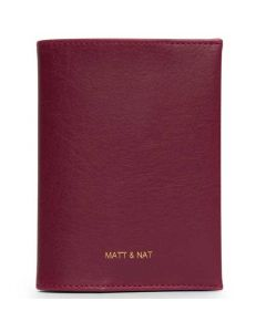 This is the Matt & Nat Garnet Vintage Collection VOYAGE Passport Holder.