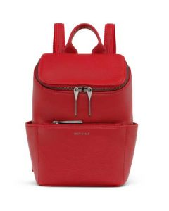 This is the Matt & Nat Red Dwell Collection BRAVE MINI Backpack.