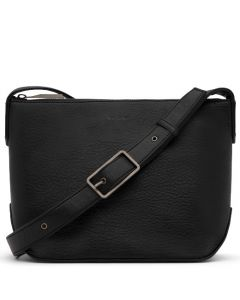 This is the Matt & Nat Black Dwell Collection SAM Large Cross Body Bag.