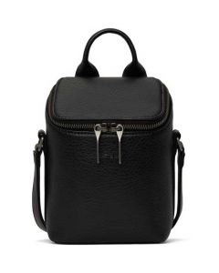 This is the Matt & Nat Black Dwell Collection BRAVE Micro Cross Body Bag.