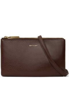 This is the Matt & Nat Woodland Dwell Collection TRIPLET Cross Body Bag.