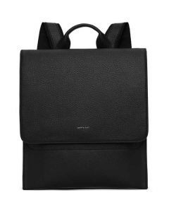 This is the Matt & Nat Black Purity Collection MAVI Slim Backpack.