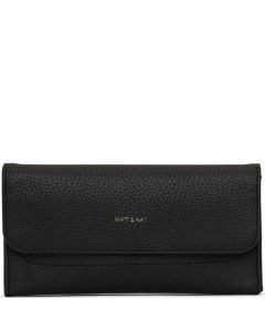 This is the Matt & Nat Black Purity Collection NIKI Wallet.