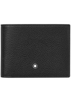 This is the Montblanc Black Meisterstück Soft Grain 11CC Wallet with View Pocket.