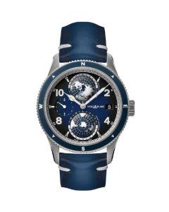This is the Montblanc 1858 Geosphere Titanium Watch.