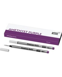 Pack of Two Amethyst Purple Fineliner refills by Montblanc.