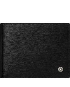 This is the Montblanc 4810 Westside 6CC Black Wallet.