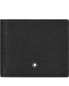 This is the Montblanc Black Meisterstück Soft Grain 8CC Wallet.