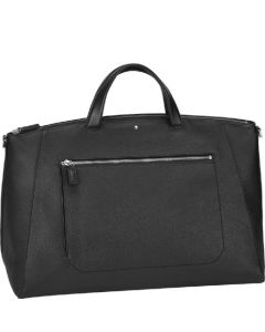 This is the Montblanc Small Black Meisterstück Soft Grain Duffle.