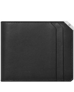 This black leather wallet is part of Montblanc's Urban collection.