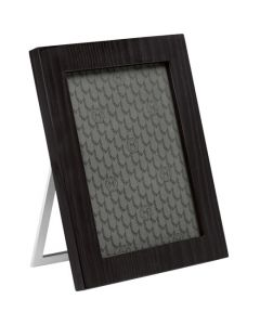 Black wooden Montblanc photo frame for your desk.