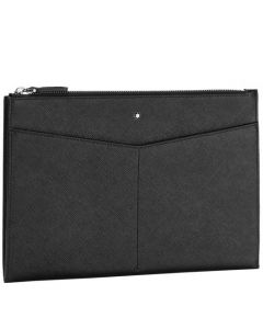 This is the Montblanc Sartorial Evolution Black Clutch.