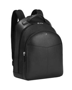 This is the Montblanc Sartorial Evolution Black Medium 3 Compartment Backpack.
