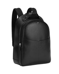 This is the Montblanc Sartorial Evolution Black Small 2 Compartment Backpack.