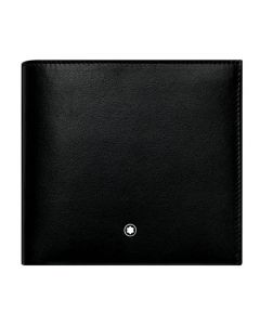 The Montblanc black smooth leather NightFlight 8CC wallet.
