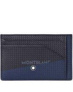 This is the Montblanc Blue/Black Extreme 2.0 6CC Card Holder.
