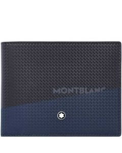 This is the Montblanc Blue/Black Extreme 2.0 6CC Wallet.