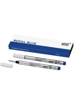 This is the Montblanc Royal Blue Fineliner LeGrand Refill (B).