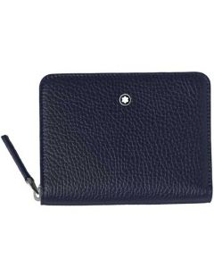 This is the Montblanc Meisterstück My Office Grey and Blue Phone Accessories Case.