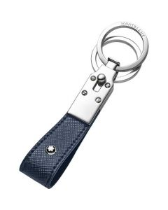 This is the Montblanc Sartorial Evolution Blue Loop Key Fob.