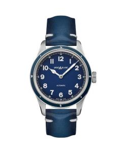 This is the Montblanc 1858 Automatic Blue Sfumato Watch.