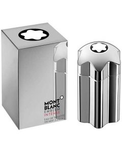 This Montblanc Emblem Intense 100ml Eau de Toilette will be presented inside a presentation box.