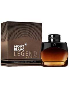 This Montblanc Legend Night 30 ml Eau de Parfum comes in a presentation box.