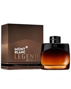 This Montblanc Legend Night 50 ml Eau de Parfum comes in a presentation box.