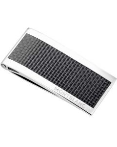 This is the Montblanc Meisterstück Money Clip with Carbon Inlay.