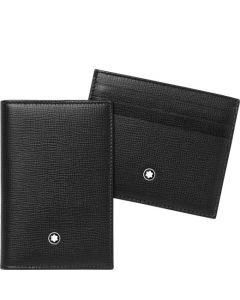 This gift set from Montblanc comes with a card holder and business card holder.