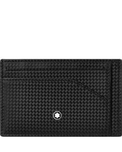 This is the Montblanc Black Extreme 2.0 6CC Pocket Card Holder.