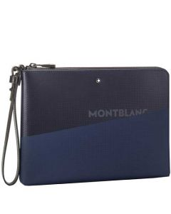 This is the Montblanc Blue/Black Extreme 2.0 Medium Pouch.