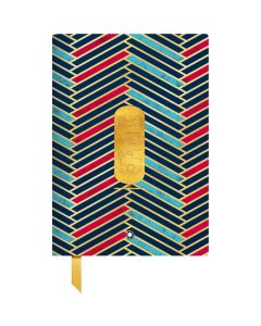 This is the Montblanc Heritage Egyptomania #146 Fine Stationery Lined Notebook.