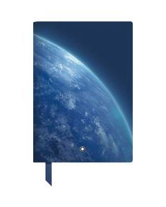 This is the Montblanc Blue Planet StarWalker #146 Fine Stationery Lined Notebook.