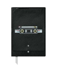 This is the Montblanc Black Fine Stationery #146 Notebook with Cassette Pocket.