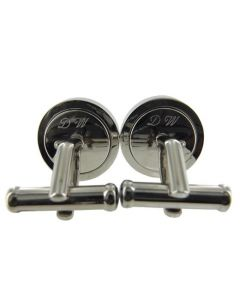 Wheelers Luxury Gifts specialise in engraving onto cufflinks.