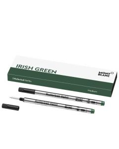 This is the Montblanc Irish Green Rollerball Refill (M).