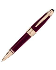 The Montblanc bordeaux special edition JFK ballpoint pen.
