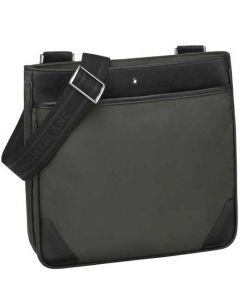This Montblanc Sartorial envelope bag comes in a Khaki colour.