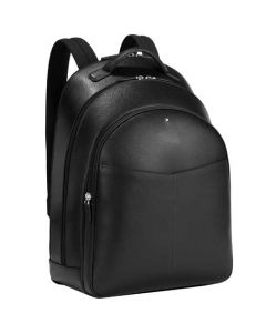 This is the Montblanc Sartorial Evolution Black Large 3 Compartment Backpack.