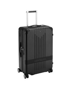 The Montblanc #MY4810 black trolley case.