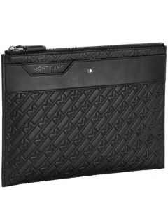 This is the Montblanc 4810 M_Gram Black Medium Pouch.