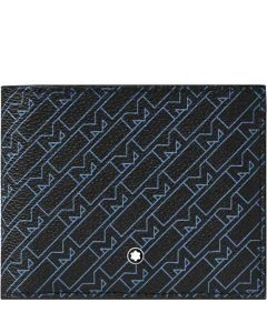 This is the Montblanc 4810 M Gram Black/Blue 8CC Wallet.