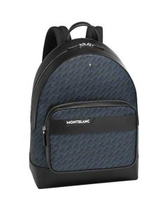 This is the Montblanc 4810 M_Gram Black/Blue Backpack.