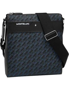 This is the Montblanc 4810 M_Gram Black/Blue Small Envelope Bag.
