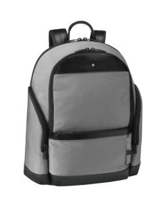 This is the Montblanc Medium Grey NightFlight Backpack.