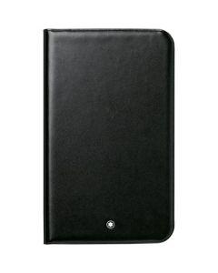 """Montblanc deep shine black leather tablet case for Samsung 3 8"""" tablet."""
