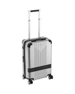 This is the Montblanc #MY4810 Grey Compact Size Cabin Trolley.