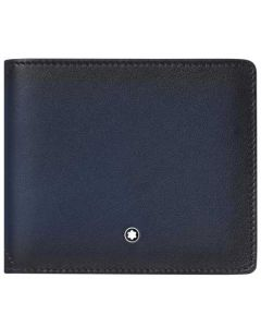 This is the Montblanc Navy Meisterstück Sfumato 8CC Wallet.