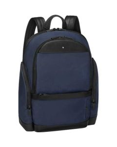 This is the Montblanc Navy Medium Nightflight Backpack.
